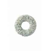 couronne buis finition glace paillettes 40 cm kaemingk 688107