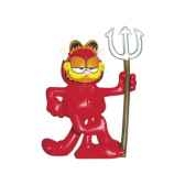 figurine garfield diable 66004