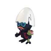 figurine calimero amoureux bouquet de fleurs 61605