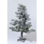 mini sapin neige paillettes 90 cm everlands nf 689102