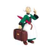 figurine becassine et la valise 61010