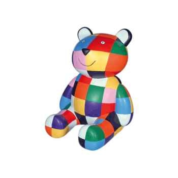 Figurine le nounours d'Elmer multicolore -63303