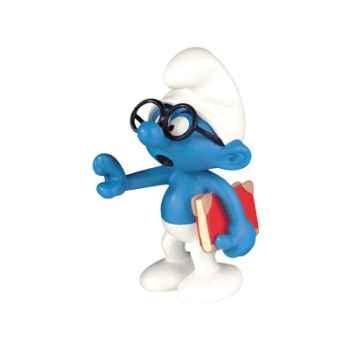 Figurine Schtroumpf à lunettes -00157