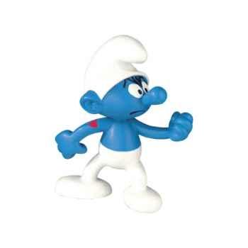 Figurine Schtroumpf costaud -00158