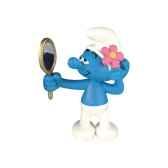figurine schtroumpf coquet 00160
