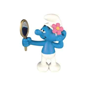 Figurine Schtroumpf coquet -00160