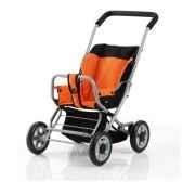 poussette poupee sitty orange brio 24890407