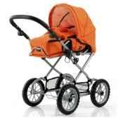 poussette poupee combi orange brio 24890307