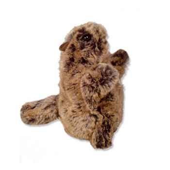 Les Petites Marie - Marionnettes animées peluche, Marmotte