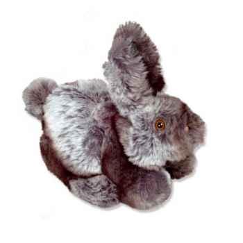 Les Petites Marie - Marionnettes animées peluche, Lapin gris
