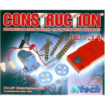 Moteur électrique de professionnel à roues dentés pour construction eitech - 100131