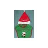 bavoir vert a bonnet p noepeha bb 40185