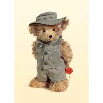 Peluche Hermann Teddy Original® Ours safari,édition limitée -17500 1