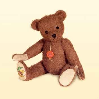 Peluche Hermann Teddy Original® Ours Schoko,édition limitée -16734 1