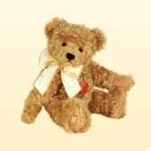 peluche hermann teddy originaours gold avec broderie 12025 4