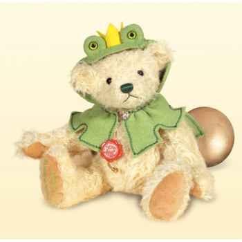 Peluche Hermann Teddy Original® Ours roi grenouille,édition limitée -11830 5