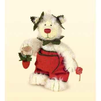 Peluche Hermann Teddy Original® Ours Erdbeere,édition limitée -10749 1