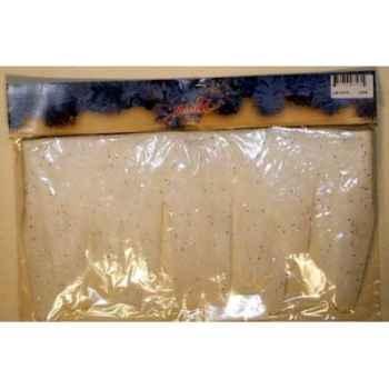Broche de glace neige 18cmx1m paillettes Peha -LB-10210