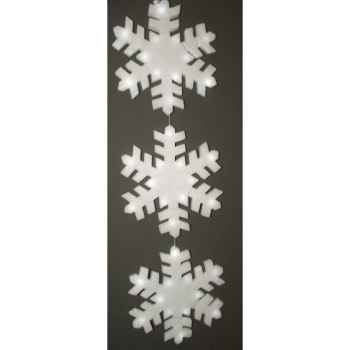 Flocon de neige 45cm led 8l set/3 s/p Peha -PT-14135
