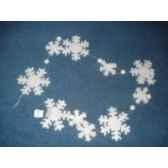 guirlande flocon de neige 268cm peha rn 35137