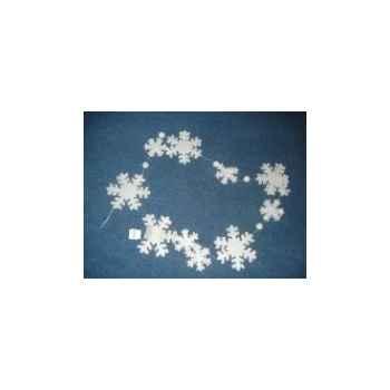 Guirlande flocon de neige 268cm Peha -RN-35137