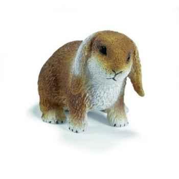 Figurine Schleich - Le lapin bélier nain - 14415