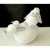 pingouin 25cm sur boule neige peha rn 57140