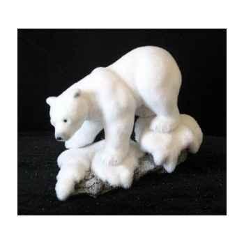 Our polaire sur bloc de neige 49cm Peha -RN-57215