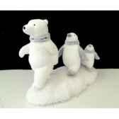 marche d un ours suivi de pingouins 32cm peha rn 57220