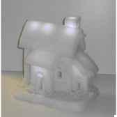 maison neige 26x25cm 6led s p peha rn 58135