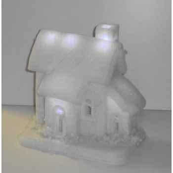 Maison neige 26x25cm 6l led s/p Peha -RN-58135