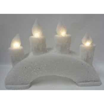 Bougeoir lumineux 25cm 4l led s/p Peha -RN-58310
