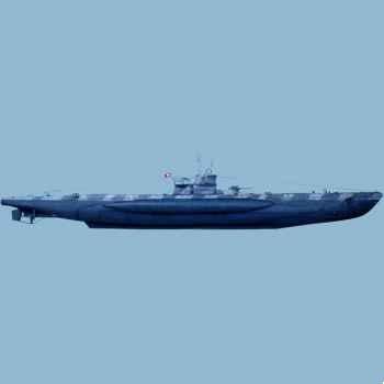 Figurine - U-Boat VII C (coque complète) - LP-02