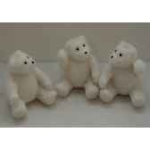 fig a susp 7cm ours blanc 3 ass peha sh 15105