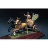 figurine ensemble char de combat romain en 125 ap j c sg s03