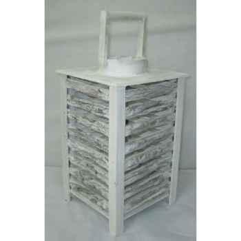 Lanterne 23x23x28cm blanc Peha -TR-26350