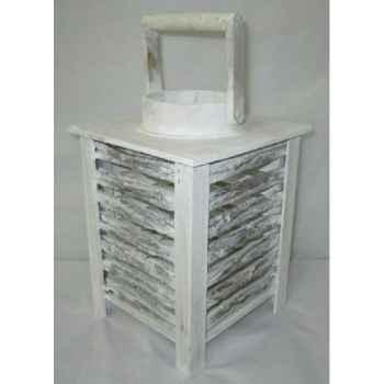 Lanterne 20x20x28cm blanc Peha -TR-26355