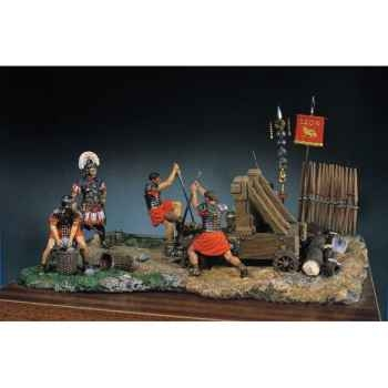 Figurine - Ensemble Catapulte romaine - SG-S05
