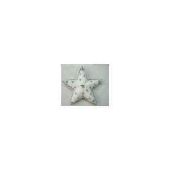 Fig a susp étoile 32cm blanc Peha -TR-28715