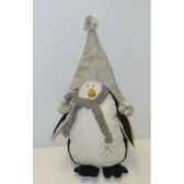 fig a susp pingouin 35cm blanc noir peha tr 29750