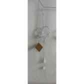 fig a susp coeur 40cm blanc peha tr 30125