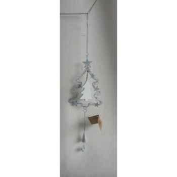 Fig a susp sapin 40cm blanc Peha -TR-30135