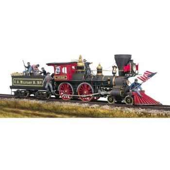 Figurine - Ensemble Locomotive nord-américaine - SG-S10