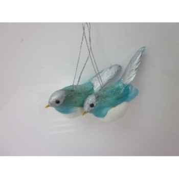 Fig à susp oiseaux 9,5cm set/2 Peha -TR-31360