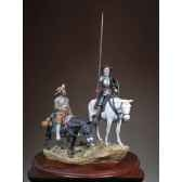 figurine ensemble don quichotte et sancho sg s12