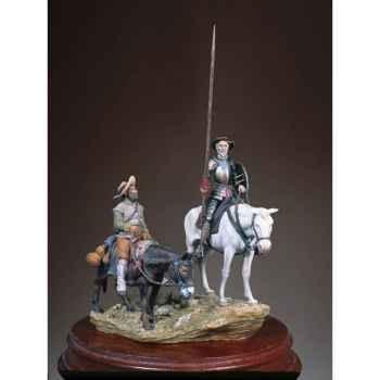 Figurine - Ensemble Don Quichotte et Sancho - SG-S12