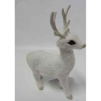 Renne 16cm blanc Peha -TR-32265