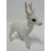 renne 12cm blanc peha tr 32270