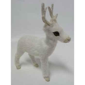 Renne 12cm blanc Peha -TR-32270