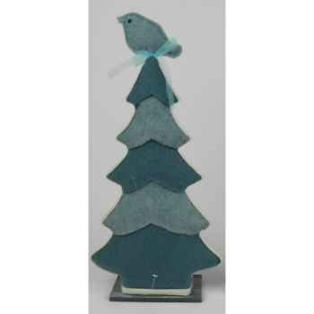 Arbre avec oiseau 23x23cm bleu Peha -TR-34380